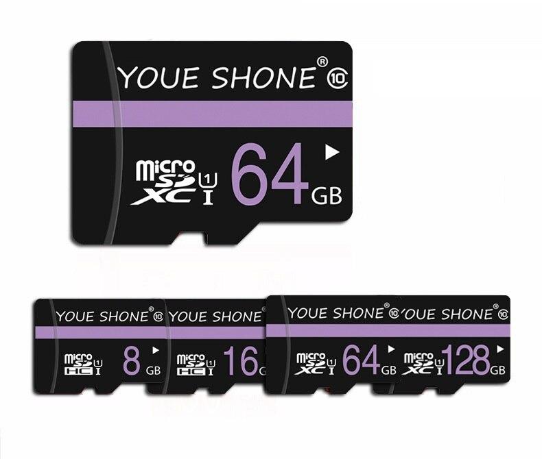 Microsd Real Capacity Micro SD Card 32GB 64GB 128GB Class 10 High Speed Memory card 16GB 8GB 4GB TF card for Phone/Camera