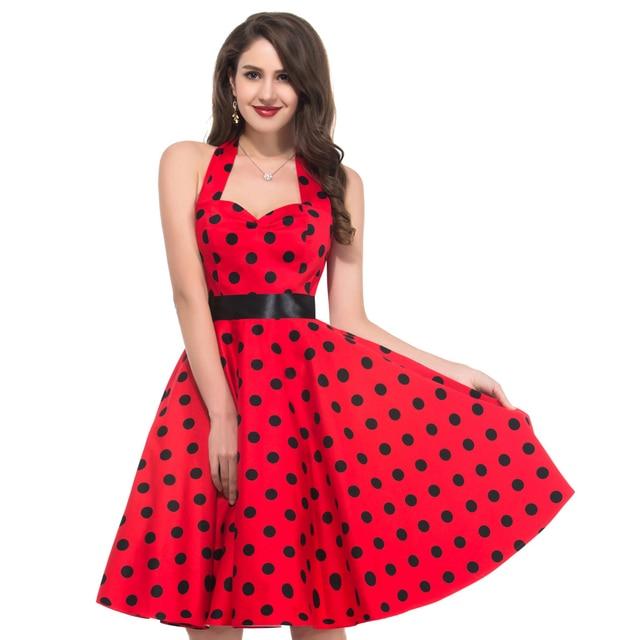 Vestido rojo blanco y azul