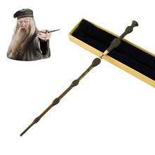 Metal Core Albus Dumbledore Magic Wand/  Potter Magical Wands/Quality Gift Box Packing for harry potter cosplay