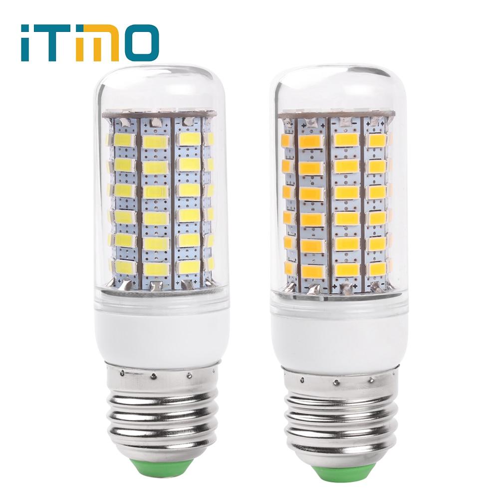Led Lamps Lights AC 220V-240V SMD Lampada Corn Bulbs 24 36 48 56 69 LEDs 5730 E27 LED Kitchen Living Room Lights Energy Saving