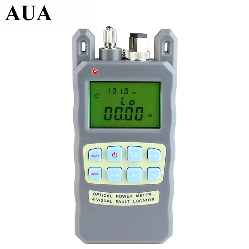 All IN ONE Fiber optical power meter 70 to 10dBm and 10mw 10km Fiber Optic Cable