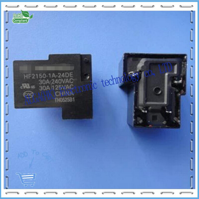 Relays HF2150 24 DE 24 V - 1 A - 4 Feet A Set Of Normally Open 30 A240vac T90
