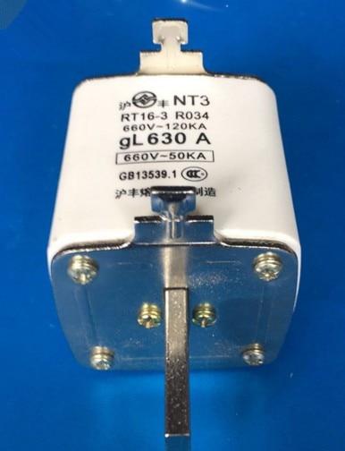 Fuses:   RO34  NT3  RT16-3   630A  660V  gL