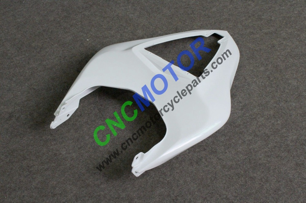 Unpainted ABS Injection Mold Tail Fairing Kit Rear Section Body Work for KAWASAKI ZX-6R 636 2007 2008 free shipping abs injection rear tail