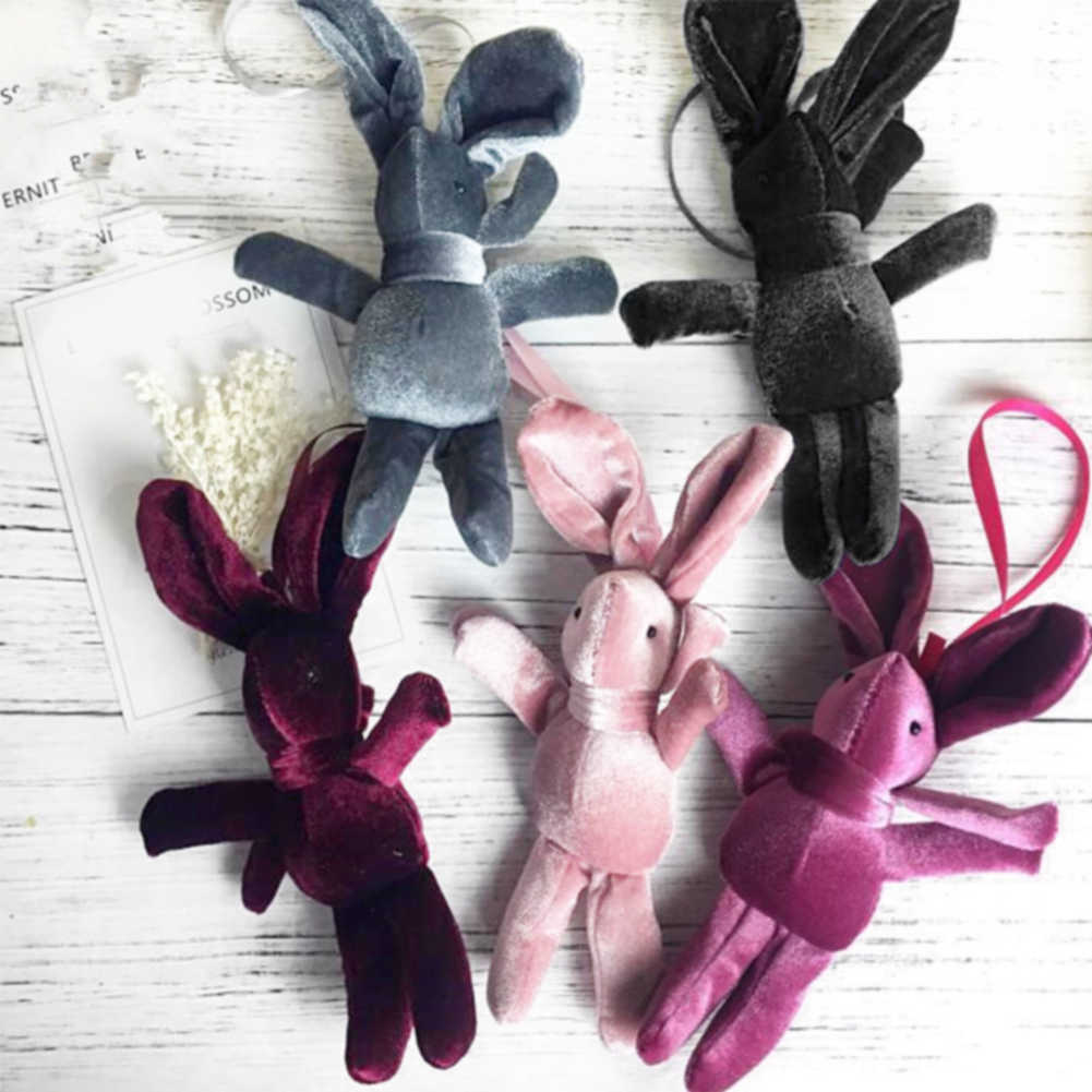 Детская плюшевая игрушка милый автомобиль кулон девушки подарок с ремешком длинные ноги чучело кукла кролик желать цветы PP Хлопок