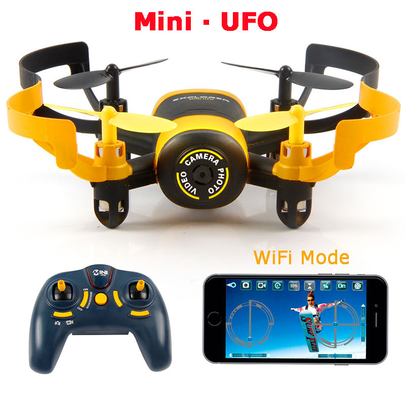 JXD 512W JXD512W 2.4Ghz WiFi FPV Mini UFO One-Key-return & Headless Mode RC Quadcopter with 0.3MP HD Camera RTF