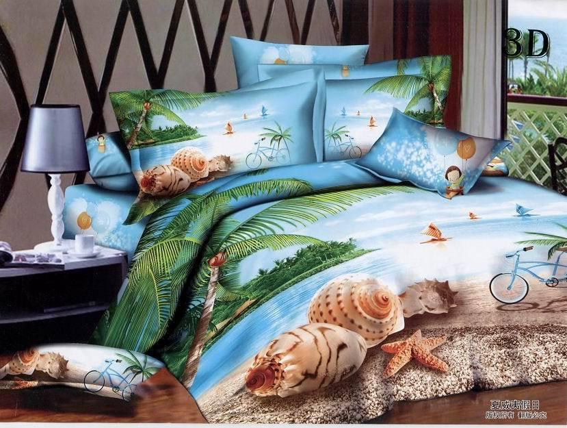 Size Sets Queen Tropical Comforter