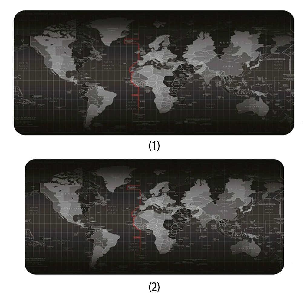 2 الأحجام العالم خريطة نمط الماوس ل الساتليه الكمبيوتر ماوس الفأر بارد الألعاب مفارش ماوس كمبيوتر إلى ماوس ألعاب سادة مكافحة زلة مكتب عمل سادة