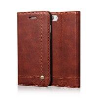 Flip Leather Phone Cases For Iphone 5S SE 6 6S Plus 7 7Plus Case Wallet Pouch