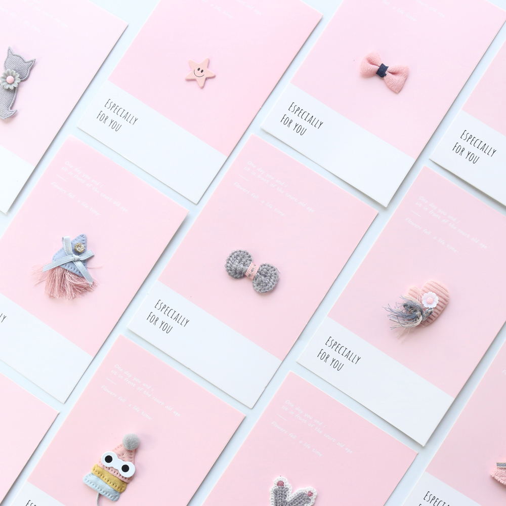 Domikee Original Cute Cartoon Handmade School Bookmarks Stationery,can Use For Notebooks Index Divider/memo Card/greeting Card