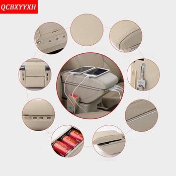 QCBXYYXH רכב סטיילינג ABS רכב משענת מרכז תיבת אחסון קונסולת מחזיק מקרה Fit עבור סוזוקי SX4 2006-2016 אביזרי רכב