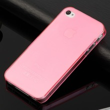 SWANDA hot sale ultra thin slim mobile phone case for iphone 4s iphone4 matte crystal clear transparent pc hard cover