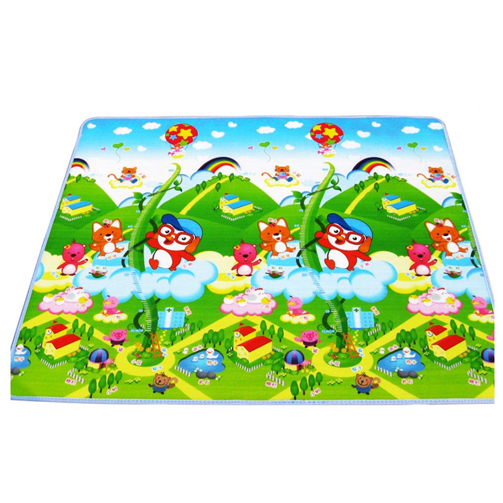 2018 New Brand Baby Kids Child Play Mat Foam Activity Soft Crawling Creeping Blanket Floor Pad