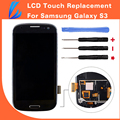 LL TRADER Highscreen Black Touch Screen For Samsung Galaxy S3 Replacement LCD i9300 Digitizer Assembly with Frame Free ship+Tool