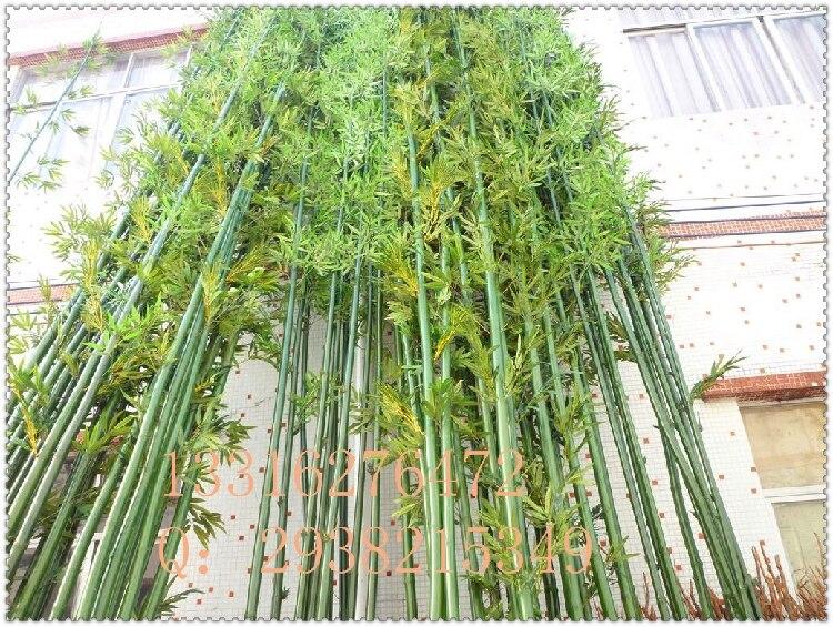 Hogar Terraza Jardín Decoraciones Falsa Simulación De Bambú