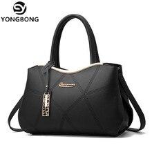 YONGBONG Marke Luxus Frauen Handtaschen Berühmte Designer Pu-leder Crossbody Tasche 2017 Mode Weibliche Messenger Bags Umhängetaschen
