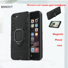 For iPhone 5 Case Magnetic Finger Ring Bracket Hard Bumper Armor Anti-knock Phone Case For iPhone 5s Cover For iPhone 5 5s Funda hollowed diamond ring pattern titanium frame case for iphone 5 5s gold