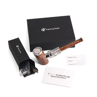 Original Kamry K1000 Plus E Pipe Kit 1000mAh Smoking Pen Wooden Design E Pipe Electronic Cigarette