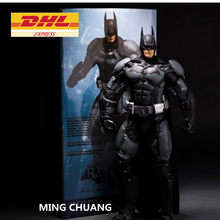 Justice Leagu Superheld Batman Arkham Asylum Joker Vijand Bruce Wayne NECA 1:4 PVC Action Figure Collectible Model Toy BOX J130(China)