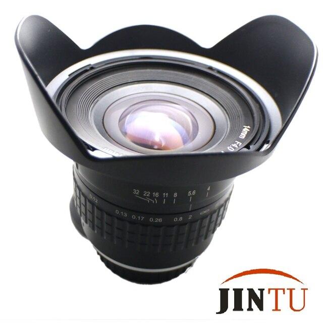 JINTU SÚPER 14mm f/4.0 Ultra Gran Angular de Lente de ojo de Pez ...