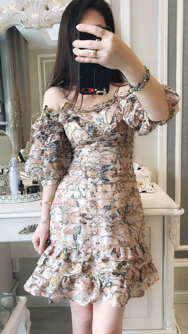 2dea12e37d349 WISHBOP NEW 2018 Woman Fashion Summer Resort Luxury Silk PAINTED ...