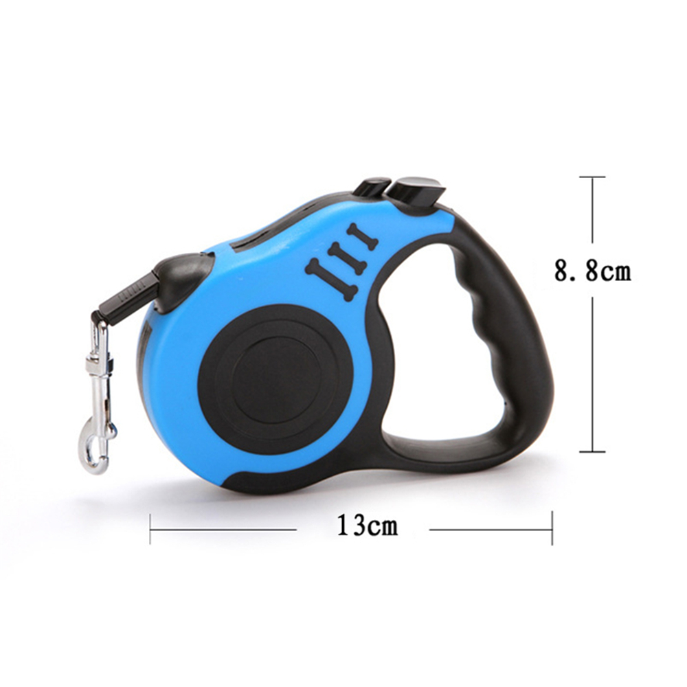 3/5M Automatic Retractable Dog Strap Flexible Dog Puppy Cat Traction Rope Extending Dog Leash for Small Medium Dog Pet Products 2