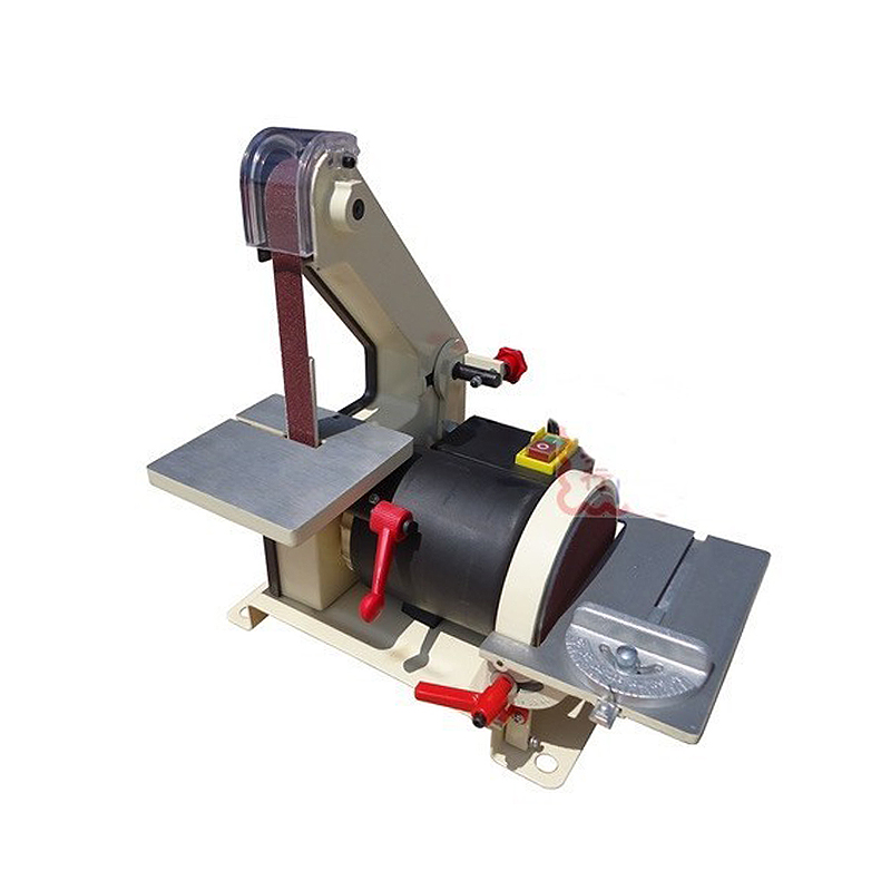 Russia tax-free shipping 25*762mm JS0013 electronic Belt Sander polishing machine Vertical Grinder vertical type abrasive belt machine polishing grinding small bench 915 sand belt