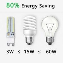 2020 Cree Hot Sale  LED lamp G9 corn Bulb AC 220V 7W 9W 12WSMD 2835 3014  LED light 360 degrees Beam Angle spotlight lamps bulb