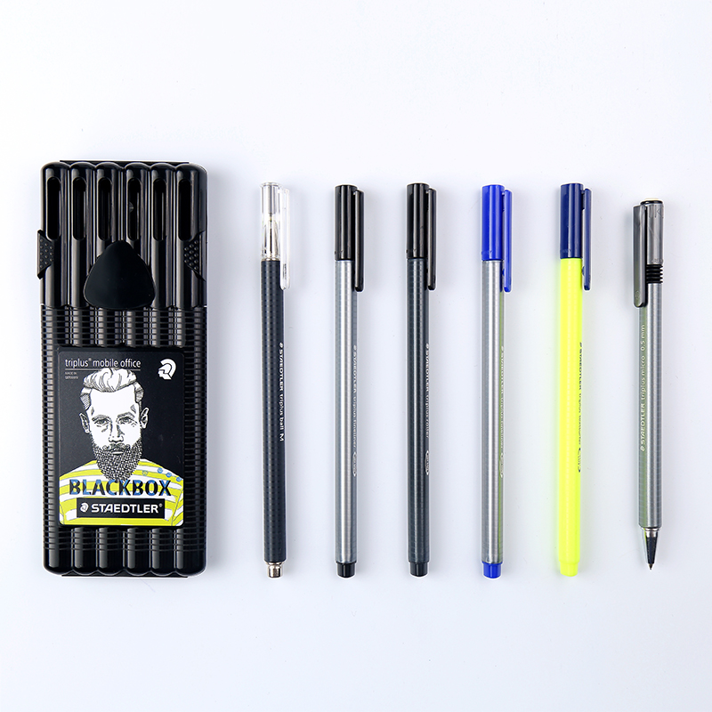 Lifemaster Staedtler Triplus Black Box Set Mobile Office Mechanical Pencil Textsurfer Roller Convenient For Everyday 34sb6b In Marker Pens From