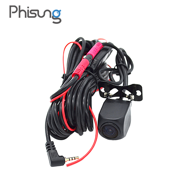 HD Night Vision rear camera with 5 7 meters cable 0 1 Lux vehicle camera IP67 Waterproof back cam for Phisung Android Car DVR