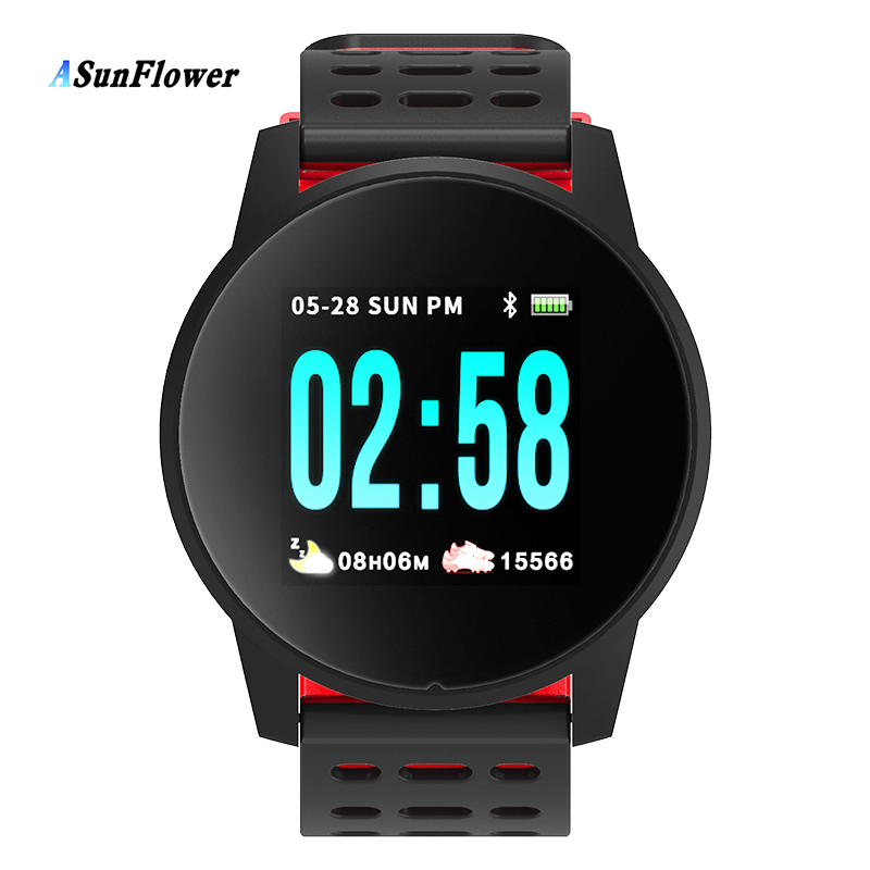 Sport Smart Bracelet Activity Fitness Tracker Pedometer Heart Rate Monitor in Smart Wristbands from Consumer Electronics
