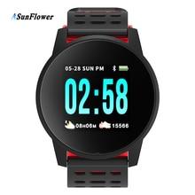 Sport Smart Bracelet Activity Fitness Tracker Pedometer Heart Rate Monitor