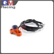 Universal Motor Kill Switch On Off Botão Para KTM SX XC EXC XCF SXF XCW EXCF XCFW 65 85 125 250 300 350 400 450 525 Motocicleta