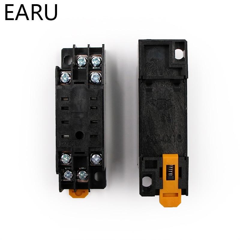 HTB1WNuUarAaBuNjt igq6z5ApXai - MY2P HH52P MY2NJ Relay Coil General DPDT Micro Mini Electromagnetic Relay Switch with Socket Base LED AC 110V 220V DC 12V 24V