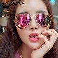 KINGSEVEN Clásicos de la Moda gafas de Sol Polarizadas de Los Hombres/Mujeres Colorido REVO Capa de La Lente Reflectante Gafas de Sol Gafas Accesorios
