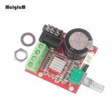 12 V Mini Hi Fi PAM8610 carte amplificateur stéréo Audio 2X10 W double canal classe D