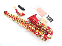High Quality Alto Saxophone Musical Instrument New Suzuki Saxophone Gold Lacquer Profissional Reference Alto Sax Free