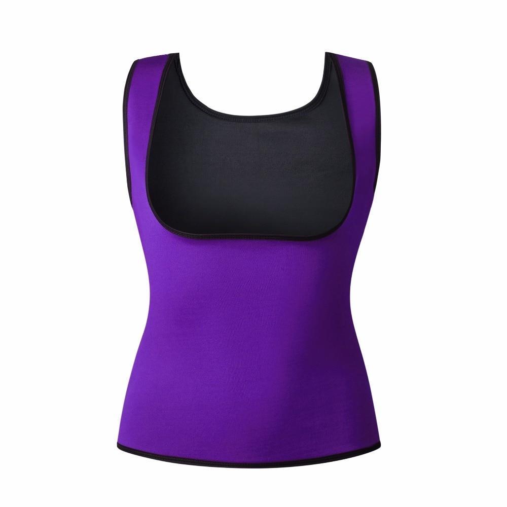 New Body Shaper Tank Top Shirt Women Neoprene Shapers CAMI Vest Shirt Tops Chest Abdomen Waist Trainer Vest 4