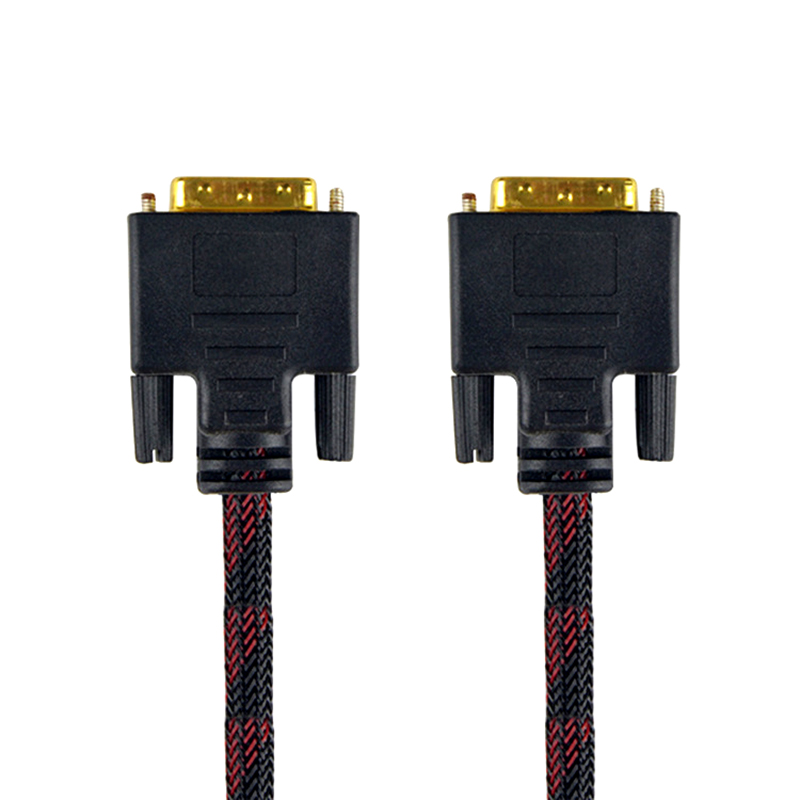 High Speed DVI Cable 3M 5M 10M Gold Plated Plug Male Male DVI TO DVI 24 1 cable 1080p for LCD DVD HDTV XBOX Monitor Projector in DVI Cables from Consumer Electronics