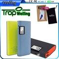 Tropweiling bateria de backup de banco de potência 15000 mah powerbank carregador portátil dual usb bateria externa para mobil iphone samsung