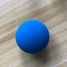 1 шт. 5,5 см ракетка, мяч для сквоша низкая скорость резиновый полый мяч для тренировок соревнований толщина 5 мм Высокая эластичность