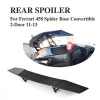 Kofferbak Hoge staart Spoiler Vleugel Carbon voor Ferrari 458 2-Door 2011-2013 Auto-accessoires