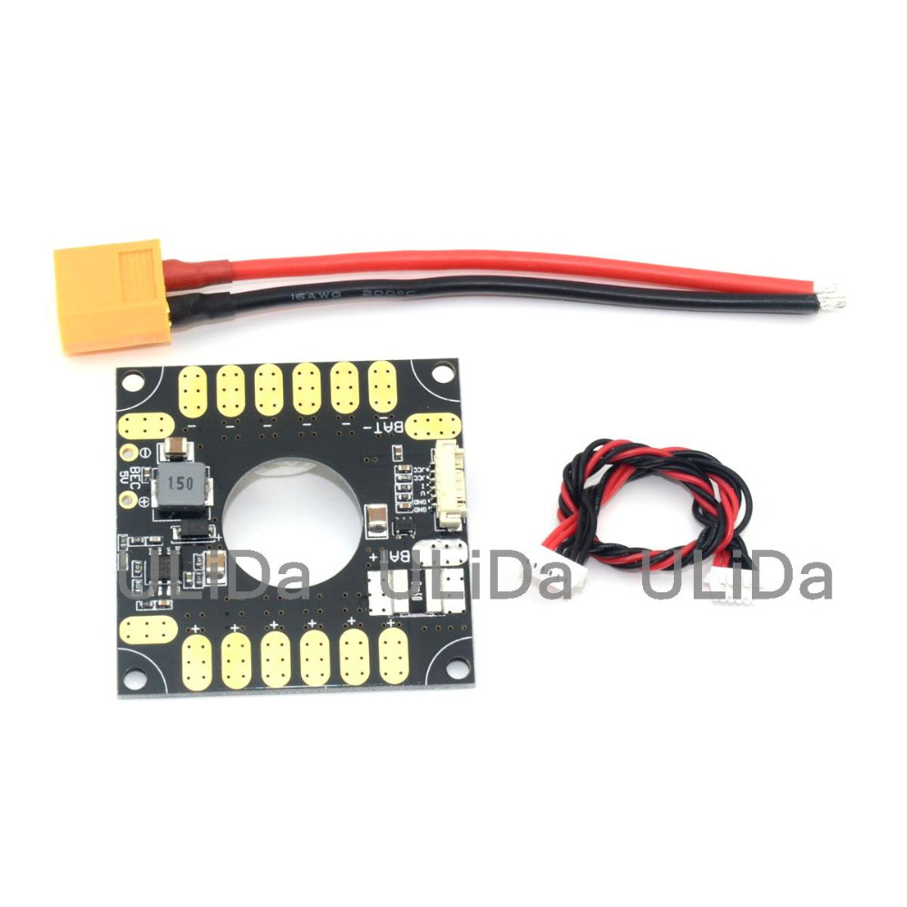 3DR Power Module ESC Distribution Board 5V BEC 3in1 for APM and Pixhawk PX4 RC bec 3 in 1 distribution power module apm voltage current sensor connection