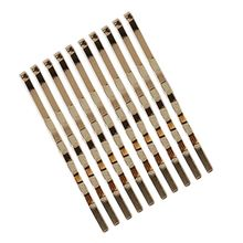 10Pcs/Set Korean Minimalist One Word Wavy Hairpin Women Girl Polished Metallic Gold Hair Clip Geometric Styling Accessories