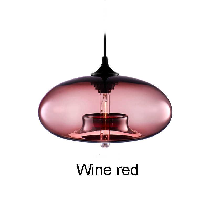 جديد بسيط الحديثة المعاصرة معلقة 6 اللون الزجاج مصباح قلادة كروية أضواء تركيبات E27/E26 للمطبخ مطعم مقهى بار