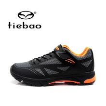 Tiebao Men Women Mountain Bike Shoes Breathable Ultralight Cycling Shoes Auto-lock Bicycle Sport Shoes Sapatos de ciclismo