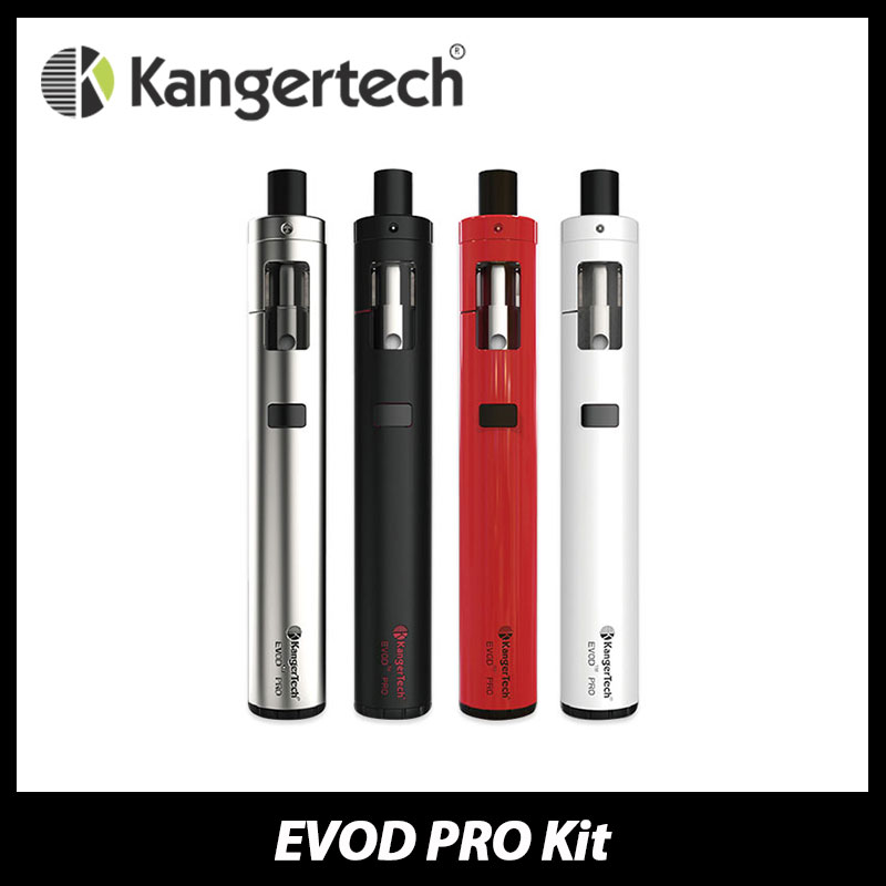 100 Original Kanger EVOD PRO Electronic Cigarette Starter Kit with 4ml E liquid Capacity Ecig Vape