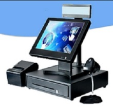 free shipping Touch screen touch pos computer system all in one pos terminal retail cheaper touch pos machine