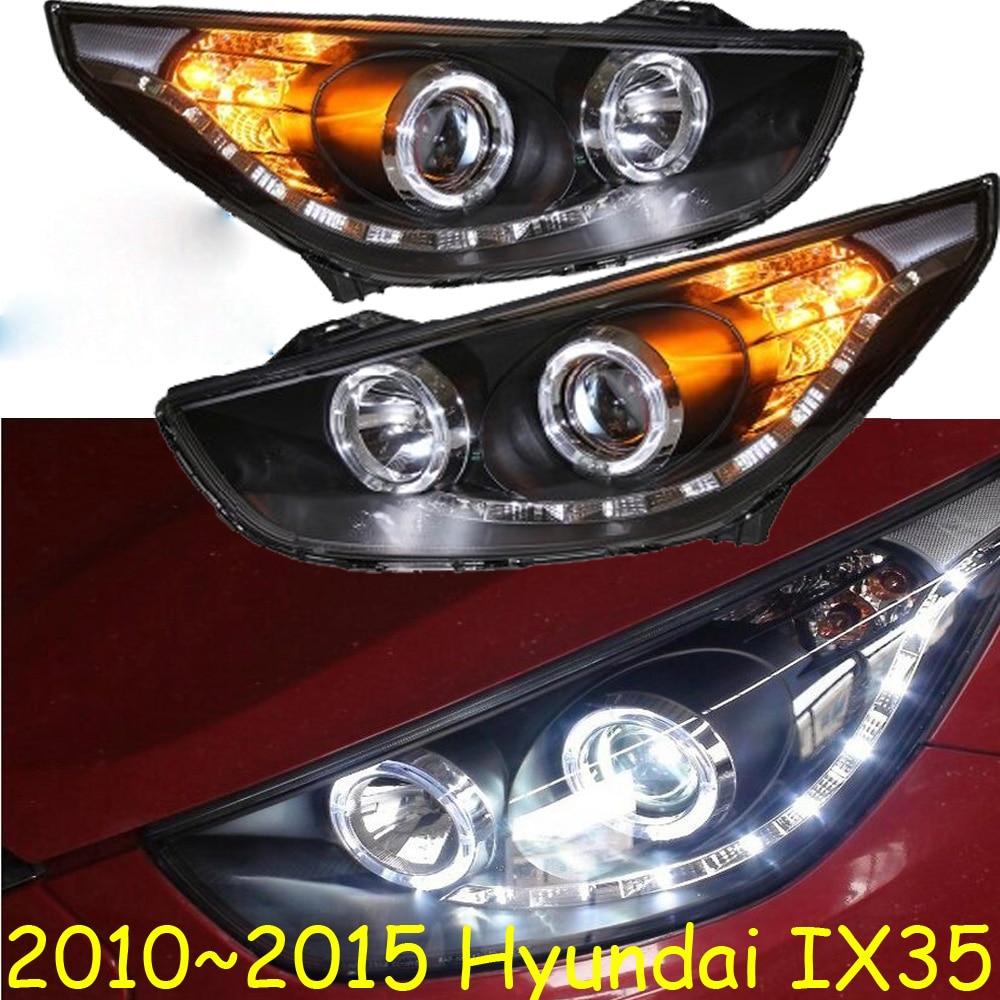 HID,2010~2015,Car Styling,IX35 Headlight,tucson,Solaris,accent,Elantra,Genesis,i10,i20,santa fe,lantra;IX35 head lamp
