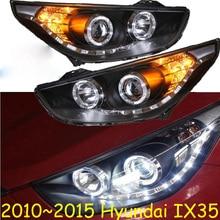 HID, 2010 ~ 2015, stylizacja samochodów, reflektor IX35, tucson, Solaris, accent, Elantra, Genesis, i10, i20, santa fe, lantra; lampa czołowa IX35